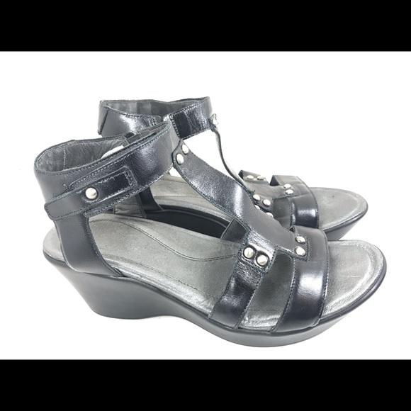 382bfda312 Naot Shoes | Womens Flirt Ankle Strap Sandal Wedge 4110 | Poshmark